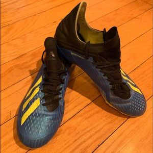 Adidas Speed Mesh Youth size 5 soccer cleats